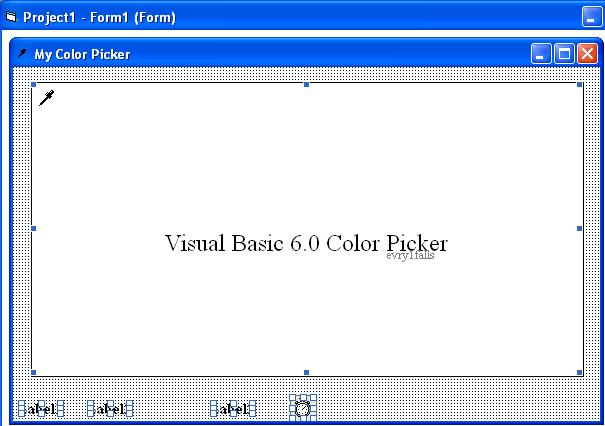 Vb Color Picker